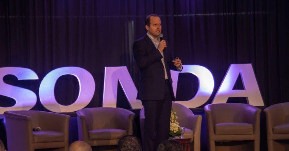 Christian Onetto, vicepresidente de transformación de la empresa Sonda. Archivo/La República