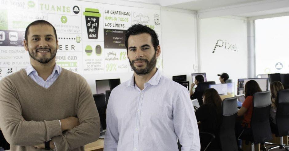 Joel Tinoco y Luis Fernández