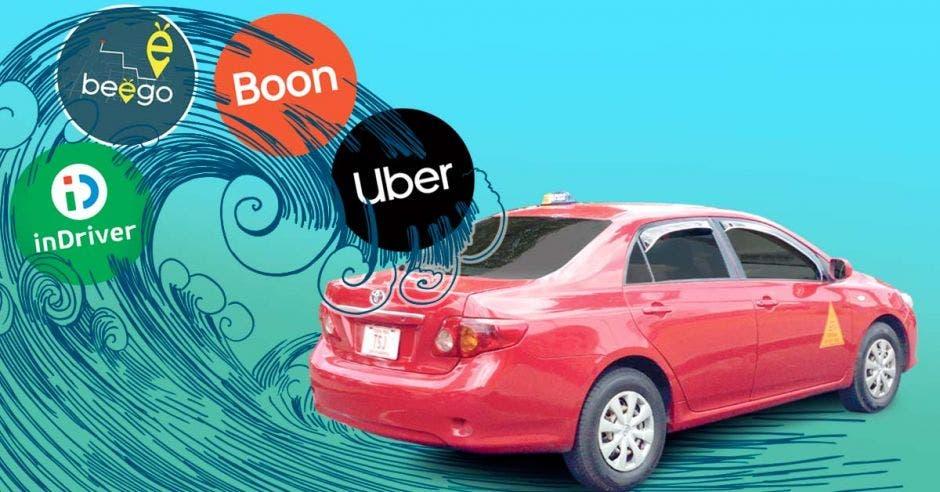 Taxistas contra apps