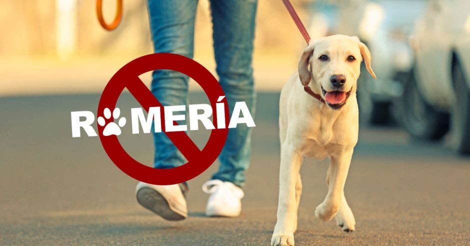 Signo de prohibido mascotas