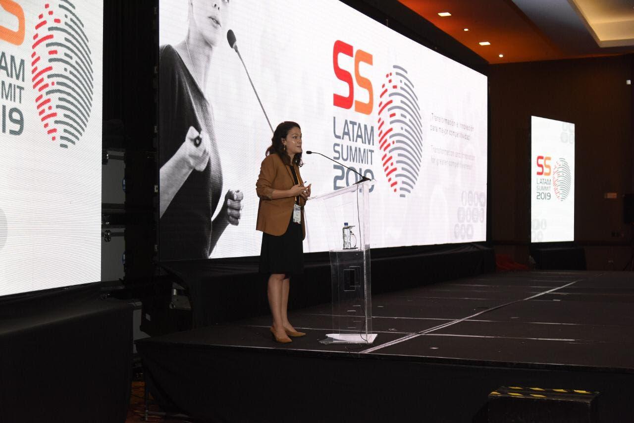 Pauline Henríquez, de la unidad de transformación digital del Banco Interamericano de Desarrollo