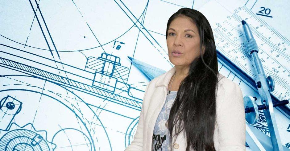 Hadda Muñoz, directora del Fideicomiso que tiene a cargo la obra. Cortesía/La República