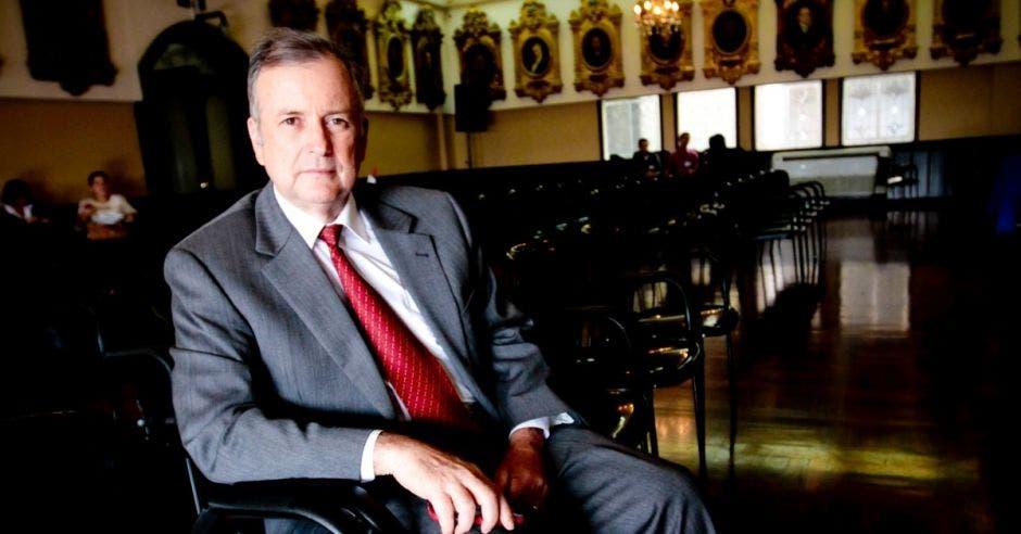 Ottón Solís, excandidato del PAC. Archivo/La República