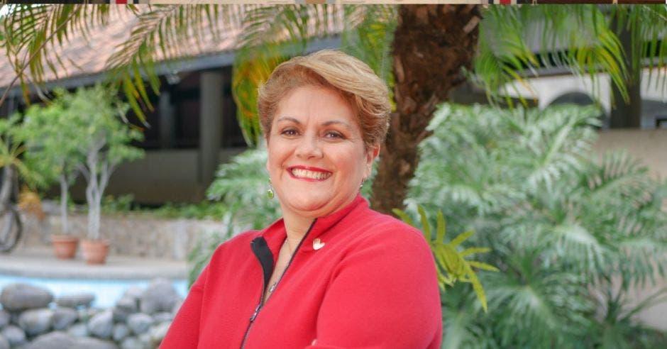 Yolanda Fernández, presidenta de la Cámara de Comercio. Archivo/La República