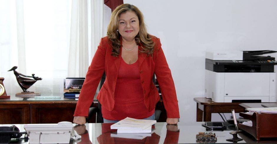 Elizabeth Briceño, presidenta del Incofer. Archivo/La República