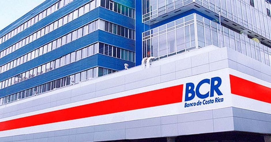Fachada de edificio del BCR
