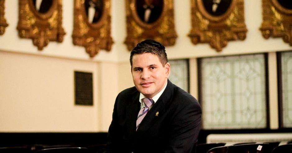 Fabricio Alvarado, líder de Nueva República. Archivo/La República