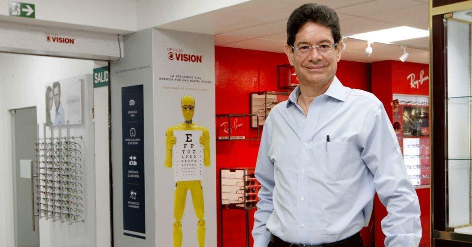 Javier Prada López, vicepresidente de Ópticas Visión
