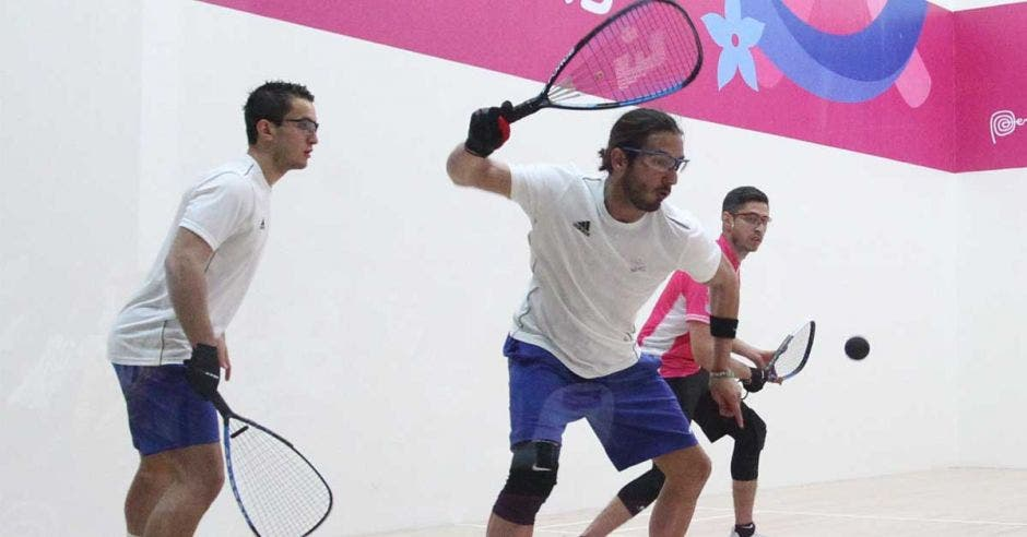 jugadores de raquet