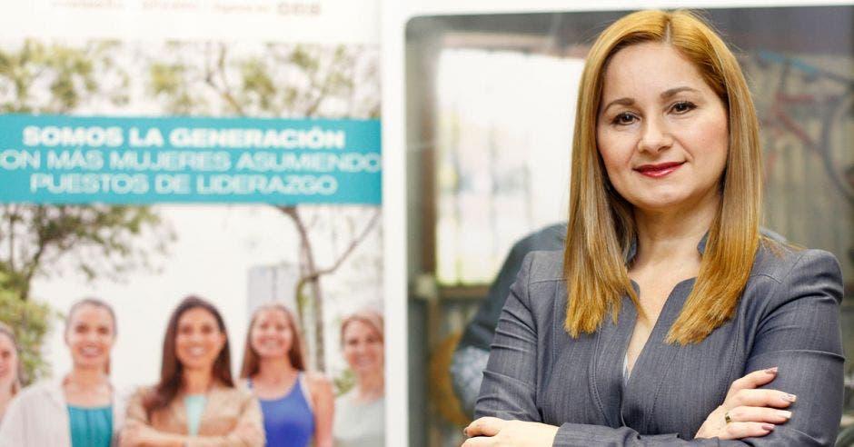 Cinthya Morera, directora de Desarrollo y Mujer.