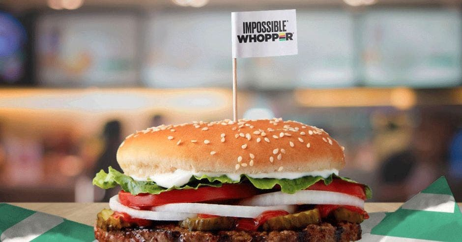 Burger KIng Whopper Imposible