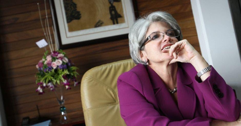Rocío Aguilar, ministra de hacienda. Archivo/La República