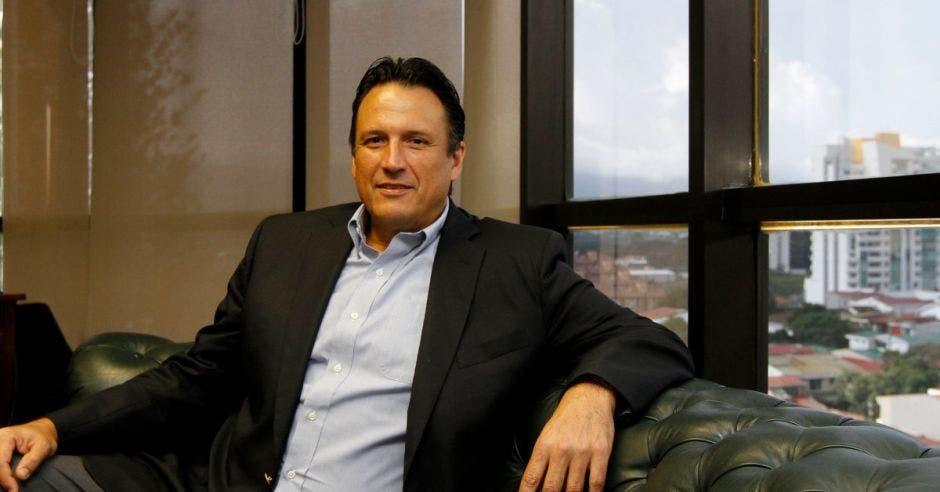 Elías Soley,  presidente de la Cámara Costarricense - Norteamericana de Comercio. Archivo/La República.