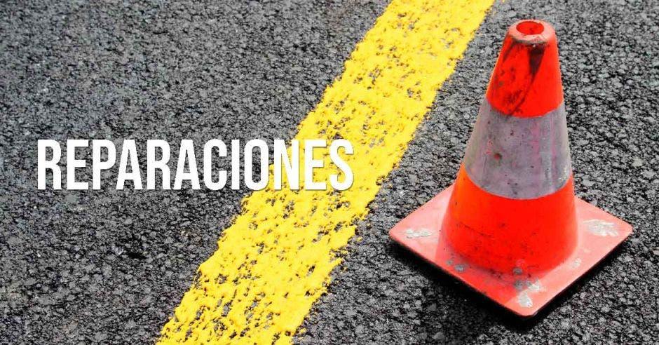 Reparaciones en la vía