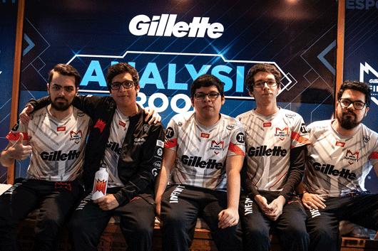 Miembros del roster 2019 de Infinity Esports
