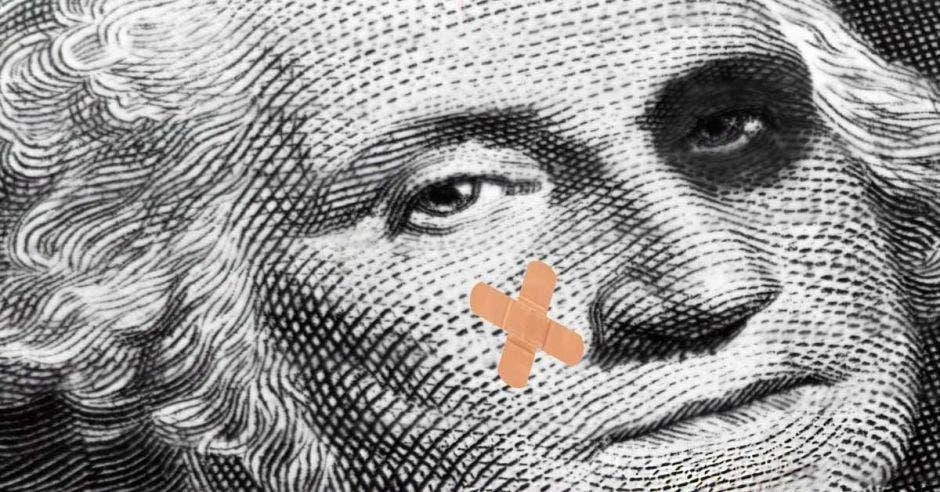 George Washington después de una pelea