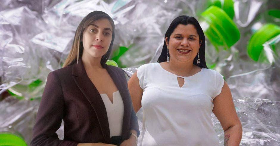 Angie Ramírez, directora ejecutiva de la Aciplast, está en desacuerdo con lo que propone Paola Vega, legisladora del PAC