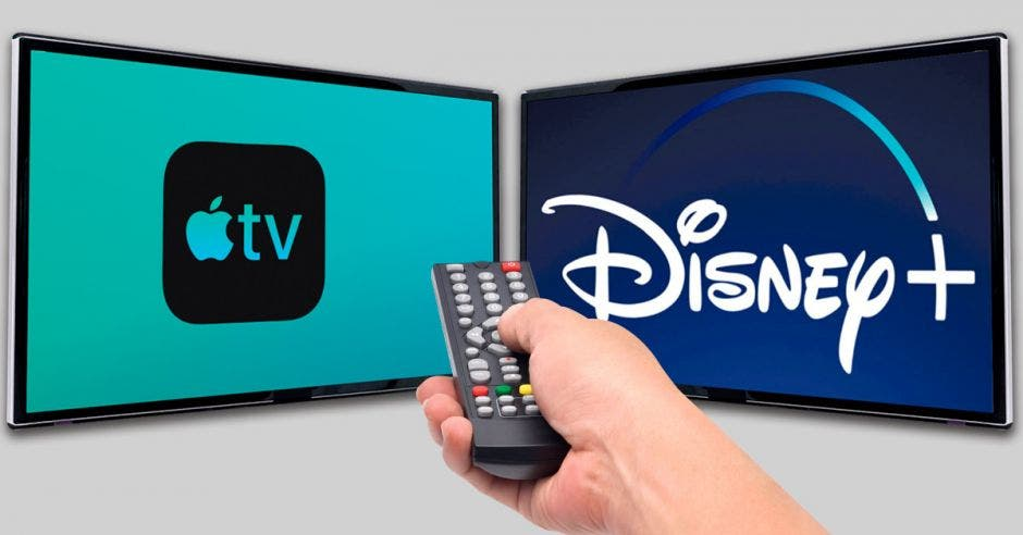 Disney+ y Apple TV+