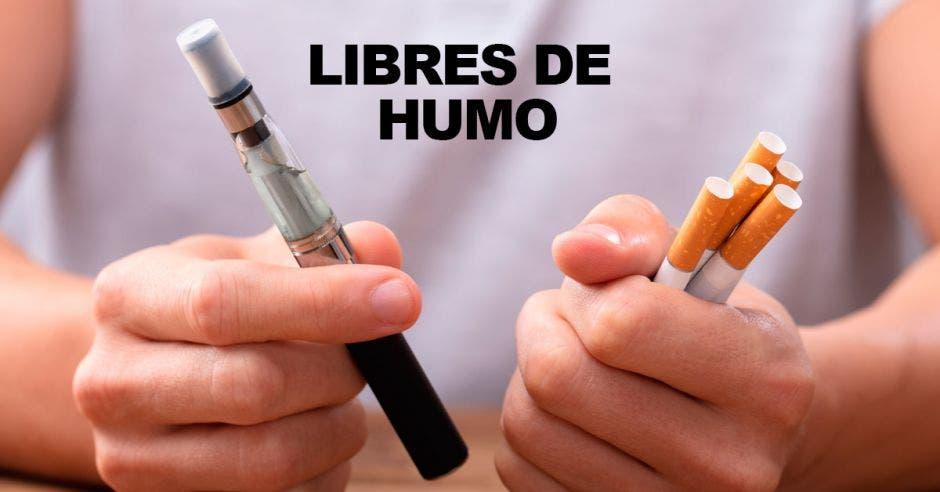Libres de humo, cigarrillos