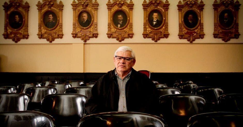 Marco Castillo, representante de la Organización Interseccional pro Derechos Humanos. Archivo/La República.