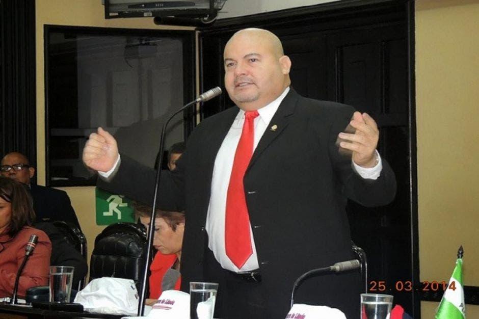 Victor Hugo Víquez, exdiputado de Liberación. Archivo/La República