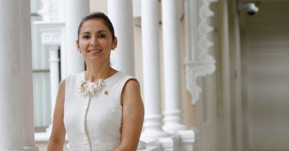 Silvia Hernández, jefa de fracción del Liberación. Archivo/La República