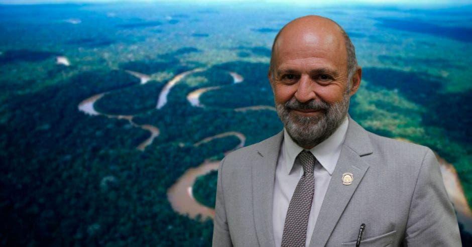 Carlos Manuel Rodríguez, ministro de Ambiente y Energía