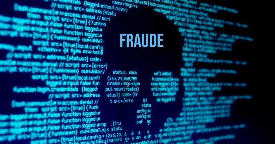 Fraude con una calavera
