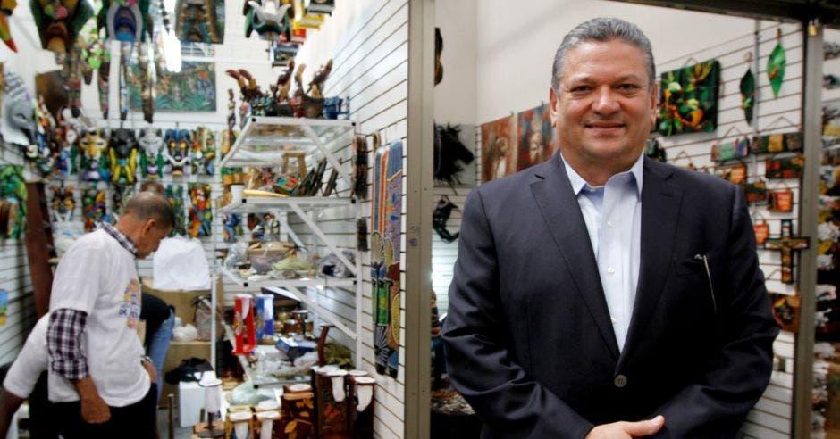 Johnny Araya, candidato a alcalde por San José del PLN. Archivo/La República