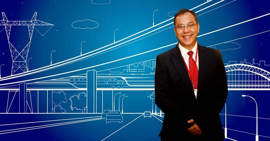 A Carlos Wong, director general de Zona Franca Coyol, no le cabe duda de que las obras para agilizar el tránsito en El Coyol estimularán aún más la inversión privada en el lugar. Archivo/La República