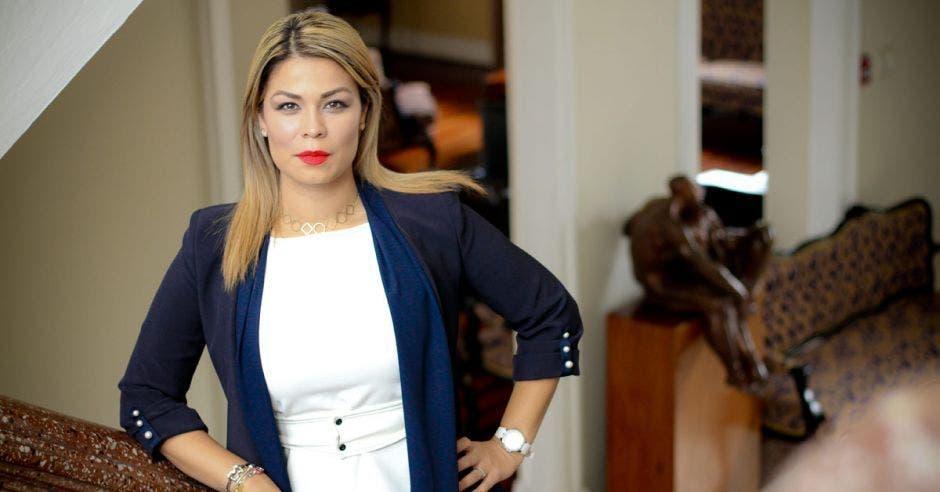 Franggie Nicolás, diputada de Liberación Nacional. Archivo/La República