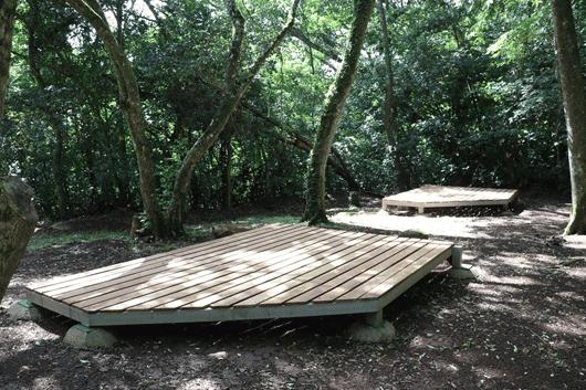 Area de acampar
