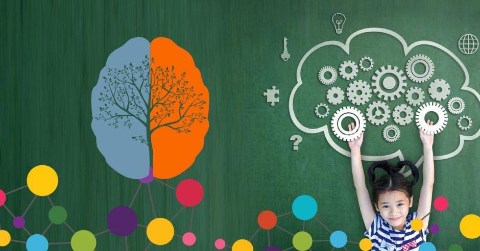 Cualquier cosa que hagamos como ejercitarnos o tocar un instrumento hace que se active el cerebro.