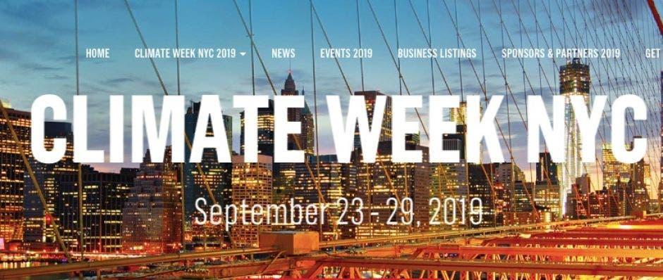 Promoción de Climate Week