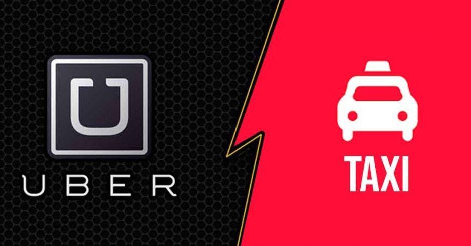 Los taxistas irán a la calle mañana para protestar contra Uber. Archivo/La República.