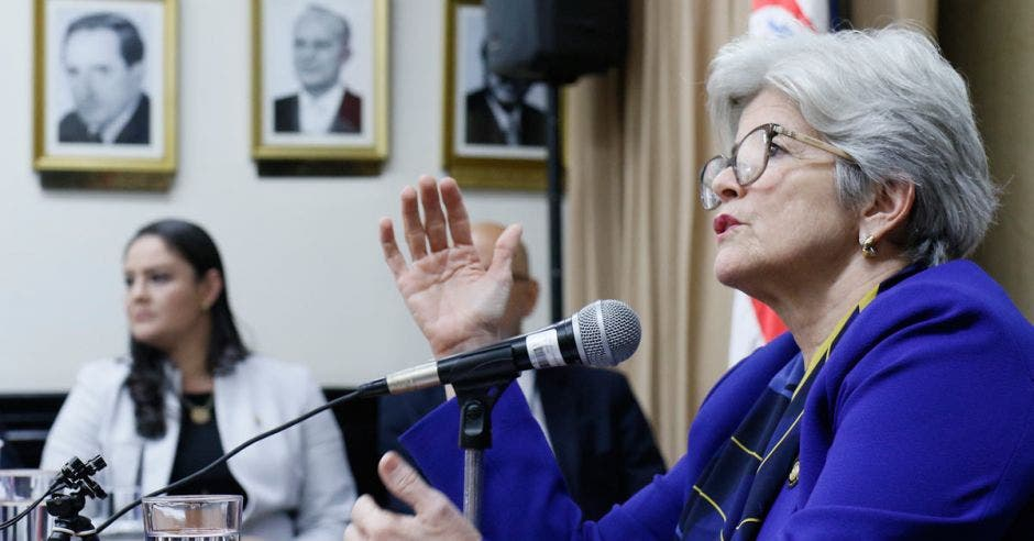 Rocío Aguilar ministra de Hacienda