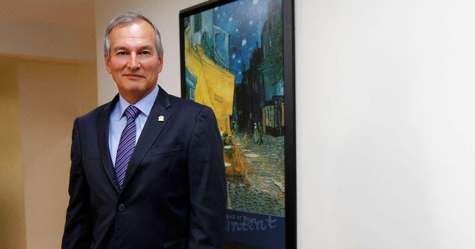 Gonzalo Delgado, presidente de la UCCAEP. Archivo/La República