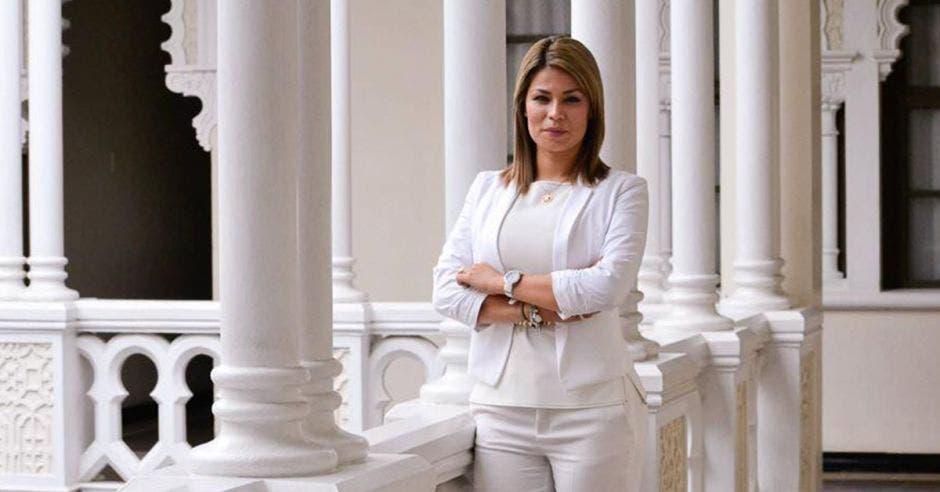 Franggi Nicolás, diputada de Liberación Nacional. Archivo/La República.