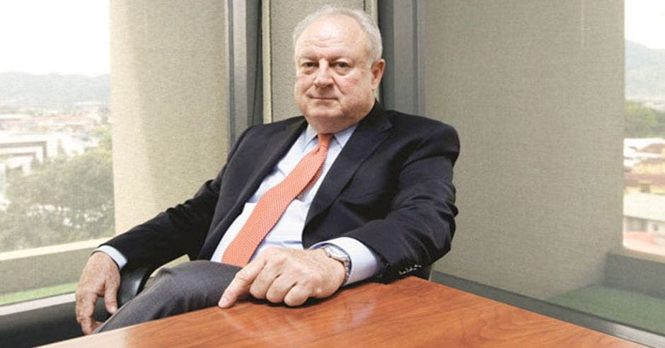 Enrique Egloff, presidente Cámara de Industrias. Archivo/La República