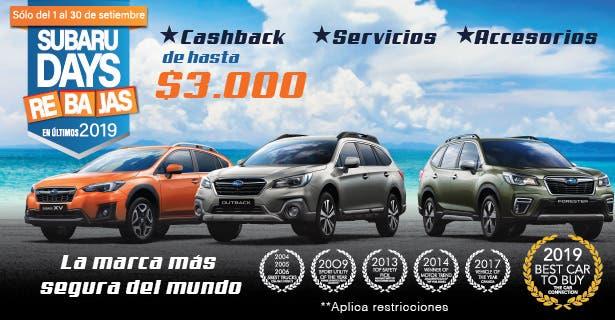 Subaru Days Rebajas
