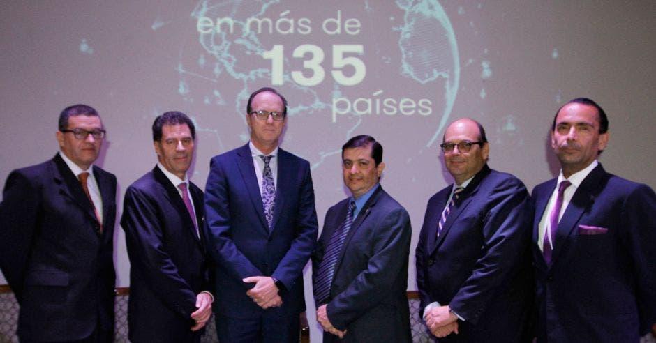 Carlos Morales, German Morales, Luis Mesalles, Carlos Vargas, Mario Hidalgo y Rafael González