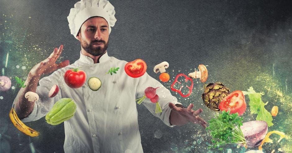 """""""La gastronomía es un sentimiento. Algo que un cocinero quiere expresar"""","""