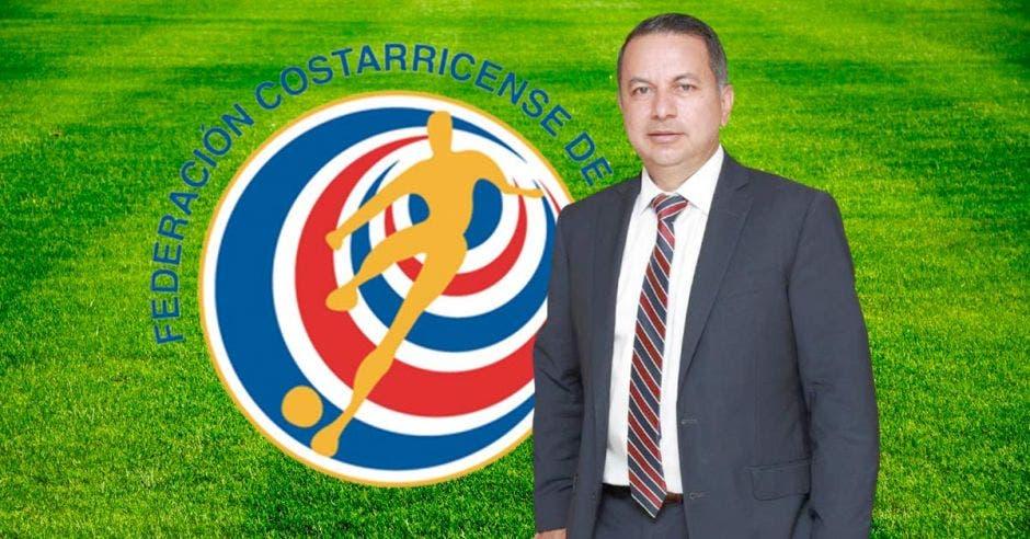 villalobos y logo de fedefutbol