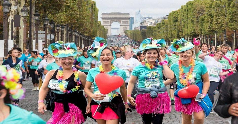 Mujeres que corren La Parisienne