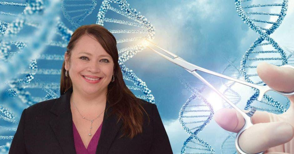 Junto con otros ocho especialistas internacionales, la doctora Marcela Garita dio vida a una terapia única que promete restaurar la visión mediante el uso de células madre y la optogenética. Anel Kenjekeeva - Cortesía/La República.