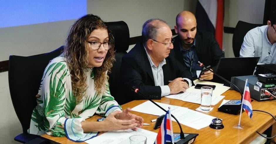 Paola Valladares, de Liberación Nacional. Archivo/La República.