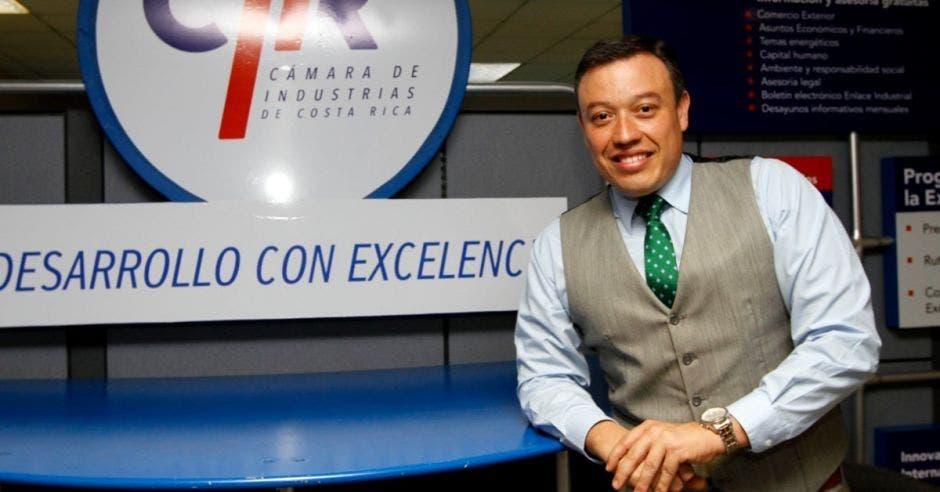 Francisco Gamboa, director ejecutivo de la Cámara de Industrias. Archivo/La República.