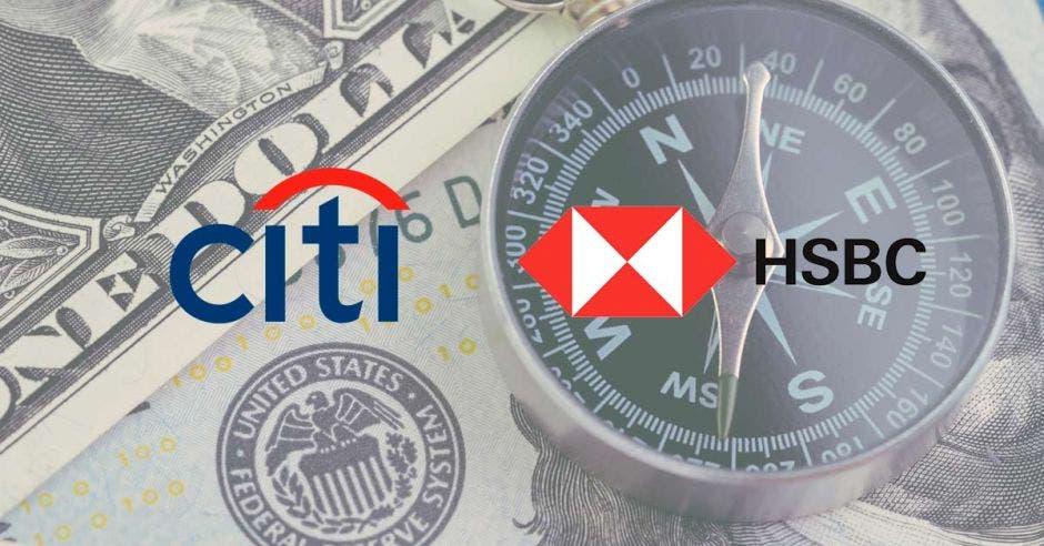 Imagen con logos de Citi y Hsbc