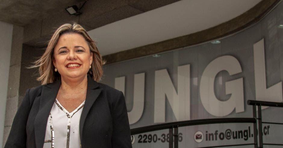 Karen Porras, directora ejecutiva de la Unión Nacional de Gobiernos Locales.