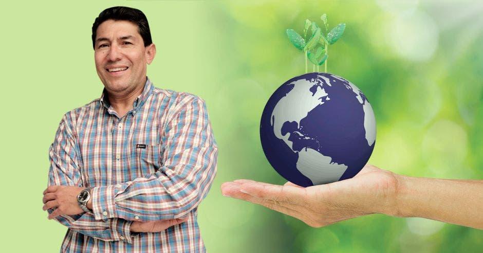 Jorge Navarro, jefe del Núcleo Textil del INA